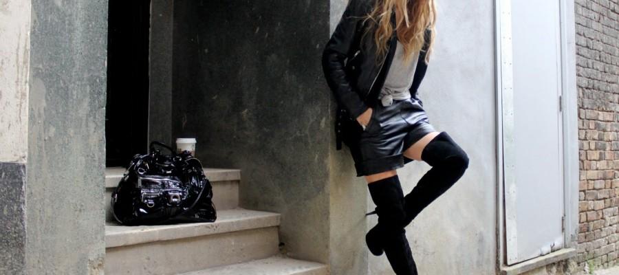 Tendência: Botas Over Knee