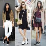 TREND ALERT: Solado flat e Tênis jeans