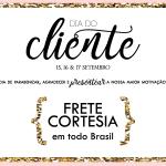 FRETE CORTESIA + 10% DE DESCONTO